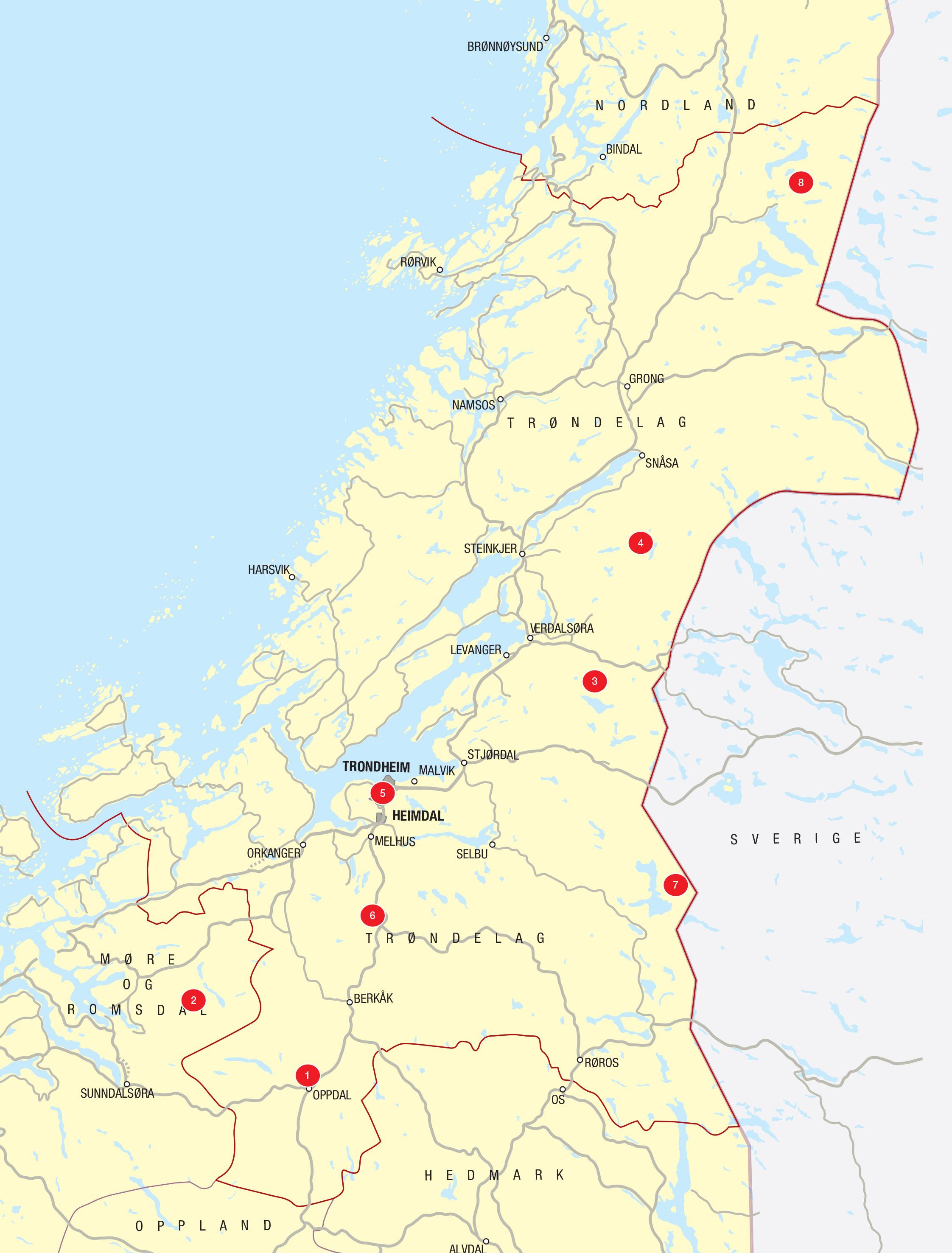Legind Vandreture I Danmark